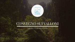 Convegno sui Valloni