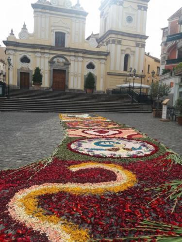 Infiorata alla Chiesa di Sant'Agnello